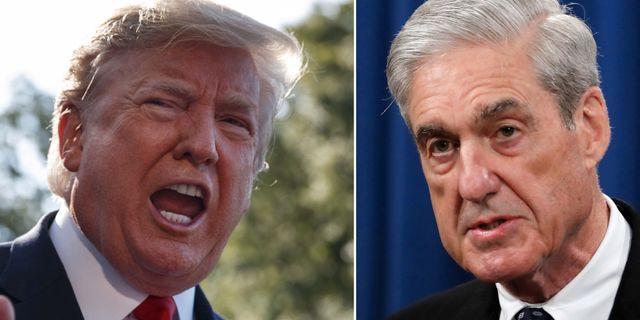 Donald Trump/Robert Mueller. TT