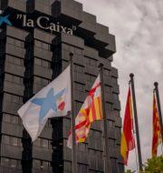 Caixabanks huvudkontor i spanska Barcelona.  Emilio Morenatti / TT NYHETSBYRÅN