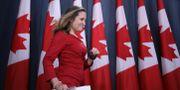 Kanadas utrikesminister Chrystia Freeland CHRIS WATTIE / TT NYHETSBYRÅN