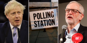 Boris Johnson och Jeremy Corbyn TT