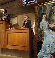 Porträttet säljs på Stockholms Auktionsverk.  Stockholms Auktionsverk.