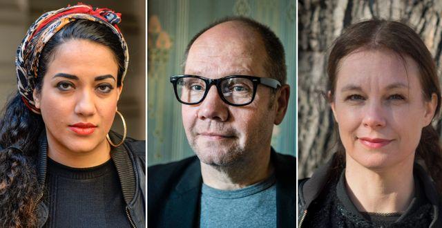 Athena Farrokhzad, Peter Englund, Sara Stridsberg, TT