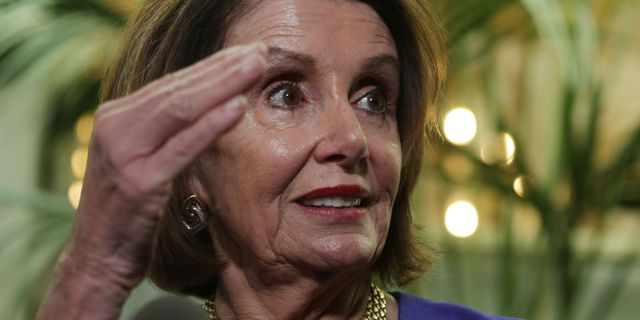Nancy Pelosi. ALEX WONG / GETTY IMAGES NORTH AMERICA