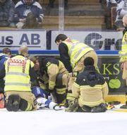 Efter olyckan.  TT.