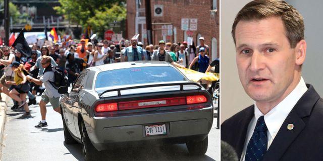 Mike Signer, borgmästare i Charlottesville. TT