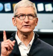 Arkivbild: Applechefen Tim Cook Bebeto Matthews / TT NYHETSBYRÅN