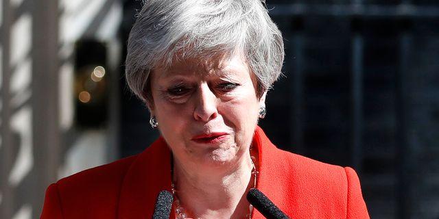 Theresa May. Alastair Grant / TT NYHETSBYRÅN/ NTB Scanpix