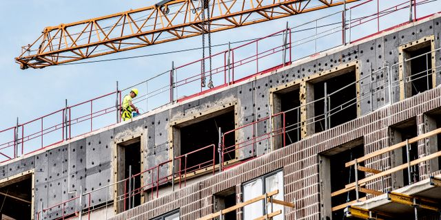 Inom byggbranschen startades många företag i det första kvartalet. Illustrationsbild. Tomas Oneborg/SvD/TT / TT NYHETSBYRÅN