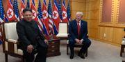 Nordkoreas ledare Kim Jong-Un och USA:s president Donald Trump Susan Walsh / TT NYHETSBYRÅN