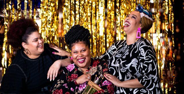 The Mamas vann årets melodifestival. Pontus Lundahl/TT / TT NYHETSBYRÅN