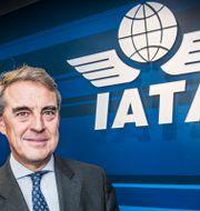 Alexandre de Juniac, generalsekreterare IATA. Tomas Oneborg/SvD/TT / TT NYHETSBYRÅN