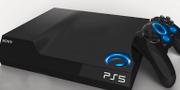 Ej officiell rendering av hur PS5 skulle kunna se ut.