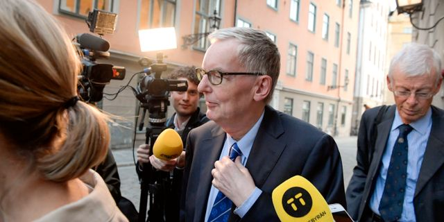 Anders Olsson, akademiledamot och tillförordnad ständig sekreterare Janerik Henriksson/TT / TT NYHETSBYRÅN