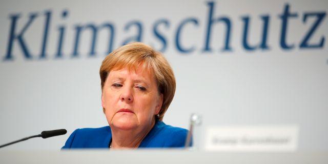 Angela Merkel.  MICHAEL HANSCHKE / TT NYHETSBYRÅN