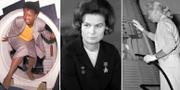 Mae C. Jemison, Nasas första svarta kvinnliga astronautkandidat, 1987/Valentina Teresjkova/Jerri Cobb, Nasas första kvinnliga stronautkandidat, 1961, TT/Wikipedia/TT