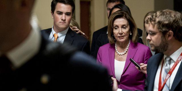 Nancy Pelosi,  amerikanska representanthusets talman.  Pete Marovich / GETTY IMAGES NORTH AMERICA