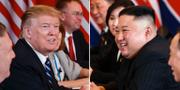Donald Trump och Kim Jong-Un.  TT