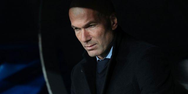 Zinedine Zidane. SERGIO PEREZ / TT NYHETSBYRÅN