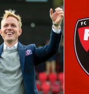 Jonas Eidevall/Klubbens emblem Bildbyrån