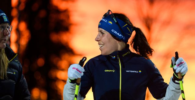 Charlotte Kalla.  ERIK MÅRTENSSON / BILDBYRÅN