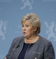 Erna Solberg. Jil Yngland/NTB scanpix/TT / TT NYHETSBYRÅN