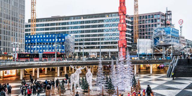 Arkivbild: Sergels torg i centrala Stockholm.  Tomas Oneborg/SvD/TT / TT NYHETSBYRÅN