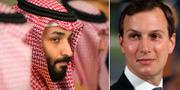 Mohammed bin Salman och Jared Kushner. TT
