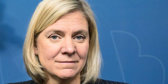 Magdalena Andersson. Adam Wrafter/SvD/TT / TT NYHETSBYRÅN