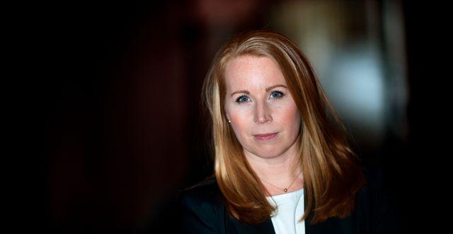 Centerpartiets partiledare Annie Lööf.  Pontus Lundahl/TT / TT NYHETSBYRÅN