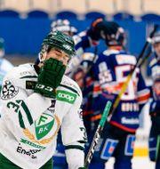 Bild från matchen.  JONAS LJUNGDAHL / BILDBYRÅN