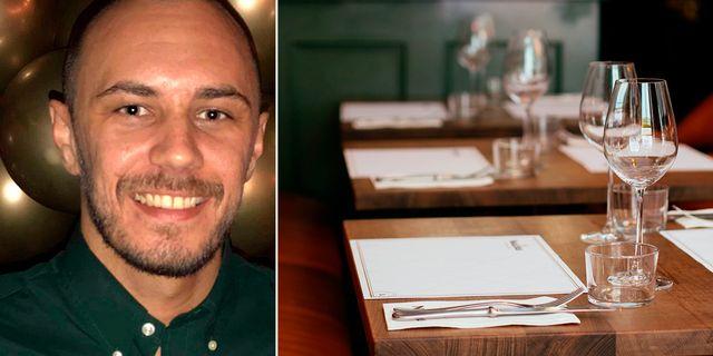 Insurello hjälpte Sebastian Gustavsson att få ut 30 000 för en arbetsskada han fick när han jobbade på restaurang.