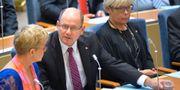 Riksdagens talman Urban Ahlin i mitten. Henrik Montgomery / TT NYHETSBYRÅN