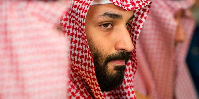 Kronprinsen Mohammed bin Salman. Cliff Owen / TT NYHETSBYRÅN/ NTB Scanpix