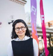 Feministiskt Initiativs partiledare Gita Nabavi Emil Langvad/TT / TT NYHETSBYRÅN