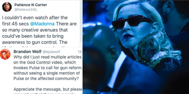 Madonna TT/Skärmdumpar från Twitter
