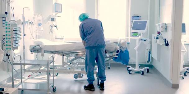 Intensivvårdsavdelning på Norrlands universitetssjukhus. Klas Sjöberg/Region Västerbotten