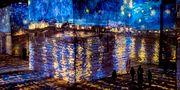 Nu kan du kliva in i  Van Goghs tavlor på konstcentret Atelier des Lumières i Paris. Atelier des Lumières/Culturespaces