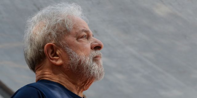 Den tidigare president Lula da Silva. Andre Penner / TT / NTB Scanpix