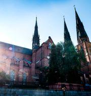Arkivbild från Uppsala domkyrka.  Pontus Lundahl/TT / TT NYHETSBYRÅN