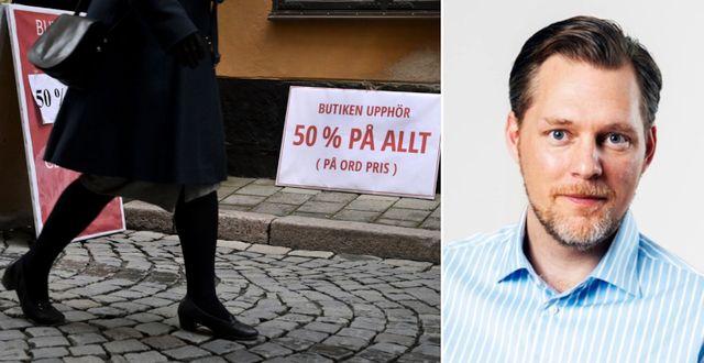 Företagarnas vd Günther Mårder. TT & Företagarna