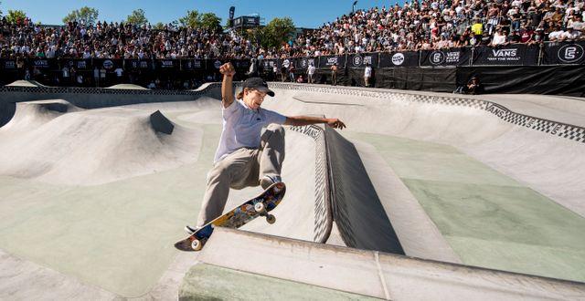 Oskar Rozenberg Hallberg, Sverige under semifinalen i VM i skateboard. PETTER ARVIDSON / BILDBYRÅN