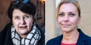 Heike Erkers t.v. Lena Nitz t.h. TT