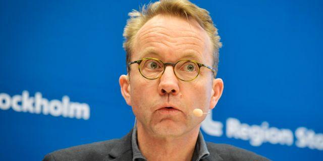 Sjukvårdsdirektör Björn Eriksson. Arkivbild. Jessica Gow/TT / TT NYHETSBYRÅN