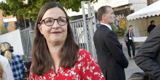 Utbildningsminister Anna Ekström  Jonas Ekströmer/TT / TT NYHETSBYRÅN