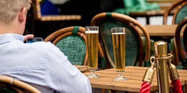 Ölglas på krogen/arkiv. Christine Olsson/TT / TT NYHETSBYRÅN