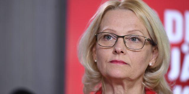 Heléne Fritzon (S). Naina Helén Jåma/TT / TT NYHETSBYRÅN