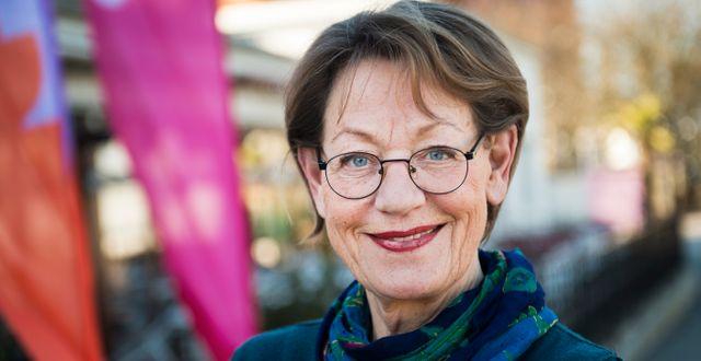 Gudrun Schyman.  Emil Langvad/TT / TT NYHETSBYRÅN