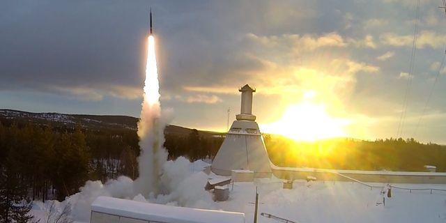 En raket skjuts upp från Esrange. Esrange / Esrange