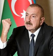Azerbajdzjans president Ilham Aliyev.  TT NYHETSBYRÅN
