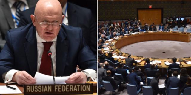 Ryssland oppnar for svenska fn resolutionen